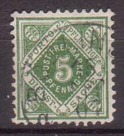 Württemberg , Dienstmarke , 1890 , Mi.Nr. 103 O / Used - Wuerttemberg
