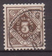 Württemberg , Dienstmarke , 1896 / 1900 , Mi.Nr. 105 O / Used - Wuerttemberg