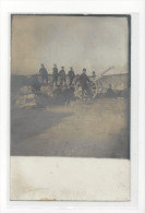 CAPPY SOMME CANON CONTRE LES AVIONS MILITARIA GUERRE 1914-18 CARTE PHOTO CARD /FREE SHIPPING REGISTERED - Other Municipalities