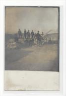 CAPPY SOMME CANON CONTRE LES AVIONS MILITARIA GUERRE 1914-18 CARTE PHOTO CARD /FREE SHIPPING REGISTERED - Altri Comuni