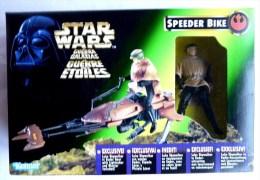 BLISTER FIGURINE STAR WARS LA GUERRE DES ETOILES STAR WARS SPEEDER BIKE Luke Skywalker - Power Of The Force