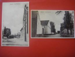 Lot De 2 Cartes De MOMALLE ( Remicourt ) Rue Momelette - Remicourt
