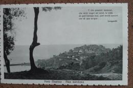 PORTO MAURIZIO -1914--- --    F/P -  -  -  - BELLA - Italy
