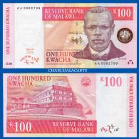 1997 MALAWI  100 KWACHA  FISHERMAN  CAPITAL HILL  SERIAL No.... 799 KRAUSE 40 UNC. CONDITION - Malawi