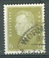 DEUTSCHES REICH 1932: Mi 465 / YT 402A, O BAHNPOST - KOSTENLOSER VERSAND AB 10 EURO - Germania