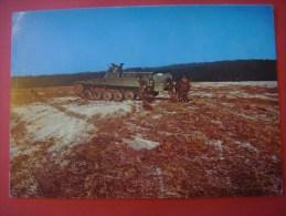 MILITAIRE : Char - Tanck : Force terrestre Véhicule transporteur de troupes AMX