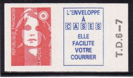 France 1993 - N° 4a Ou 2807a Avec TD6-7 - Autocollant Neuf 1er Choix (Lot 4) - Adhesive Stamps