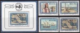 SOUTH AFRICA RSA 1988, Explorer Bartolomeu Dias - Entdecker Dias MNH, Compl.set Incl. Mi Bl.20 - Afrique Du Sud (1961-...)