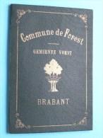 TROUWBOEK Van GOMPEL Albert 9 Oct 1878 Ukkel / DESTREBECQ Cornélie 2 Aug 1881 Vorst ( Zie Foto´s ) !! - Non Classés