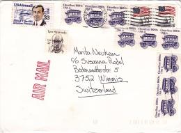 Brief 1986 In Die Schweiz (o019) - Covers & Documents