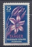 140013258  TANGER    ESPAÑA  TELEGRAFOS  **/MNH - Marruecos Español