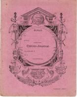 COUVERTURE DE CAHIER-JOURNAL ECOLE H. BENEZECH BEZIERS ( AU DOS CARTE DE FRANCE ) - Protège-cahiers