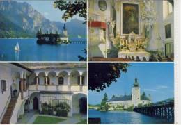Schloss ORTH - Das Seeschloß Ort  - Mehrbildkarte - Gmunden