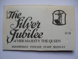 MONTSERRAT 1977 SILVER JUBILEE BOOKLET COMPLETE MNH - Montserrat