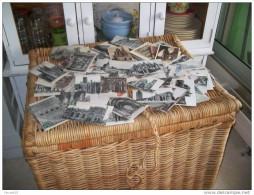 Lot De 500  Cartes Postale Diverses Vues Village  Drouille  Etrangers France.trouver Dans Un Grenier De Ferme... - 500 Postcards Min.