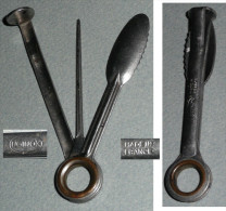 Rare Ancien Cure-pipe 3 Outils, Tool Cleaner, De La Marque UGINOX France - Riempipipe