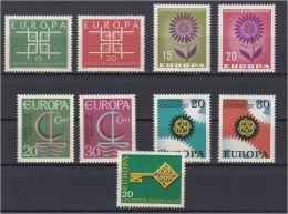 1361b: Lot BRD- Europa CEPT Postfrisch **, Versand In Pergamintüte Mit Sondermarkenfrankatur - Unclassified