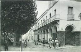 Algérie BLIDA  Avenue De La Gare - Blida