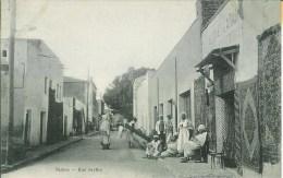 Algérie BISKRA  Rue Berthe - Biskra