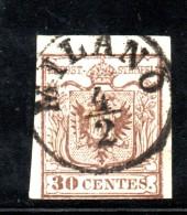 Y1452 - LOMBARDO VENETO , Il 30 Cent Tipo I Usato - Lombardo-Veneto