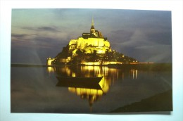 D 50 - Le Mont Saint Michel - Photo écrite - Le Mont Saint Michel