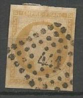NAPOLEON N°  13A  OBL LOSANGE PC 441 / PETIT AMINCI - 1849-1876: Periodo Classico