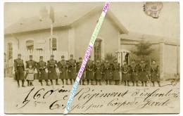 54 TOUL / CARTE PHOTO / 160e RI ( TOUL ) / POSTE DE GARDE / 160e REGIMENT D' INFANTERIE - Toul