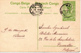 CONGO BELGE : BULI, Le Lualaba. Entier Postal Voir Scans. - Congo Belga - Otros