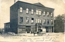 Etats Unis - New Jersey - Belleville Hall - Etats-Unis