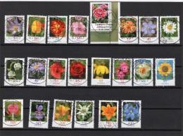 Bund  Blumen Ex 2434 - 2694 Gestempelt / Used - Usados