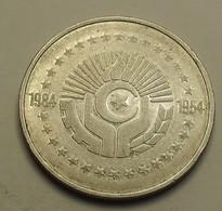 1984 ND - Algérie - Algeria - 5 DINARS, 30è Anniversaire De La Révolution Algérienne - KM 114 - Algeria