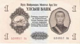 Mongolia - Pick 28 - 1 Tugrik 1955 - Unc - Mongolie