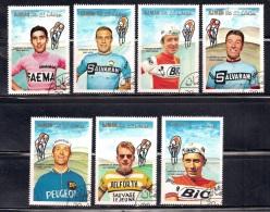 Ajman 1969 Cyclists(1) - Ajman