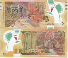 Trinidad And Tobago 50 Dollars 2014. UNC Polymer - Trinidad & Tobago