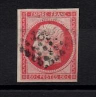 S-9: FRANCE: Lot Avec N°17B Obl B - 1853-1860 Napoleone III