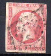 5/ France  : N° 17A Oblitéré  , Cote : 65,00 € , Disperse Belle Collection ! - 1853-1860 Napoleon III