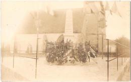 Dépt 91 - BRIÈRES-LES-SCELLÉS - Carte-photo Monument Aux Morts - (environs D'Étampes, Morigny-Champigny, Étréchy) - Autres Communes