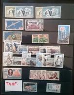 TAAF (terres Australes Antartiques Françaises)  Bon Petit Lot De Timbres, Oblitérés. Cote + De 900 Euros - Collections, Lots & Series
