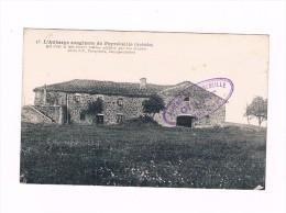 D 07-- Cpa  - AUBERGE SANGLANTE DE PEYREBEILLE -  Cachet  Du Proprietaire Gibert - - France