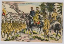 Le Général French à La Bataille De Charleroi - Guerre 1914-18