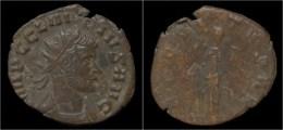 Claudius II Gothicus Billon Antoninianus Aequitas Standing Left - 5. L'Anarchie Militaire (235 à 284)
