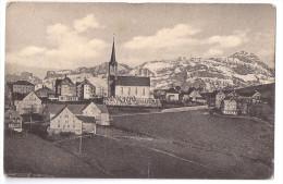 SCHWELLBRUNN: Teilansicht Mit Säntis 1915 - AR Appenzell Rhodes-Extérieures
