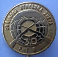 ARCHERY / SHOOTING - Union PTUJ, Slovenia OBCINSKA STRELSKA ZVEZA PINS BADGES  Z - Boogschieten