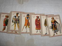 LOT DE 21 CHROMOS BLEDINE BLECAO LES COSTUMES - Vieux Papiers