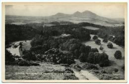 SIR WALTER SCOTT´S FAVOURITE VIEW FROM BEMERSYDE HILL - Berwickshire