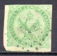 5/ Cololies Emissions Générales : N° 2 Oblitéré , Cote : 17,00 € , Disperse Belle Collection ! - Eagle And Crown