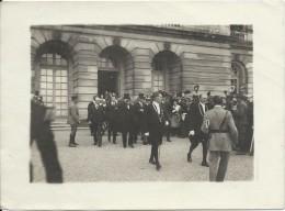 Photographie D´Agence /Signature Du Traité De Paix/Galerie Des Glaces /Versailles /TRAMPUS/1919  PHN88 - Anonyme Personen