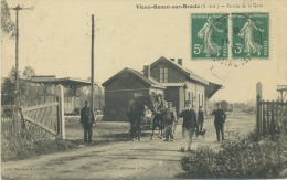 76 - Vieux -Rouen-sur -Bresle ; Entrée De La Gare . - France