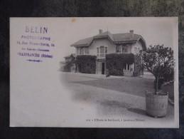 69 JARNIOUX  ECOLE DE BOISFRAND  Cachet BELIN VILLEFRANCHE - France