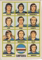CALCIATORI PANINI 1973-74 SQUADRA SERIE A-Sampdoria N. 30 (161114) - Panini